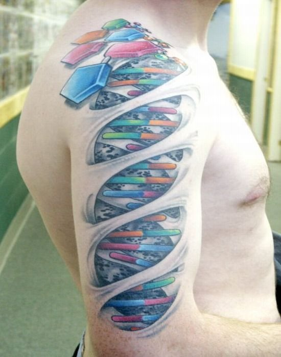biomech1 2sleeve DNA Ink
